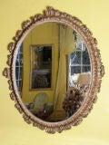 Italian oval mirror image 2