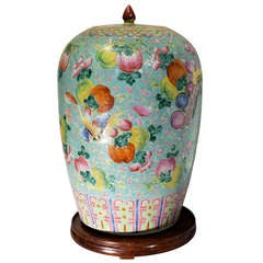A 19th Century porcelain vase.