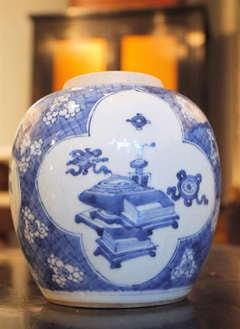 The classic Chinese Blue and White