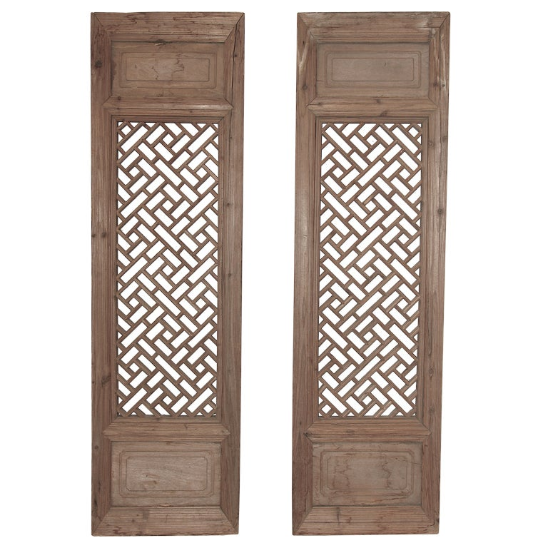 Pair of 18th century window screens at 1stdibs for 18th century window