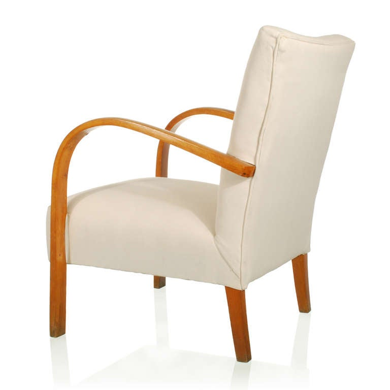 Pair italian deco modern club chairs or lounge chairs at 1stdibs - Deco lounge eetkamer modern ...