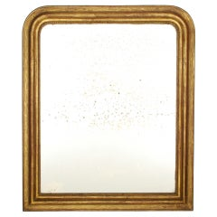 Antique Gold Leaf Louis Philippe Mirror, 19thC