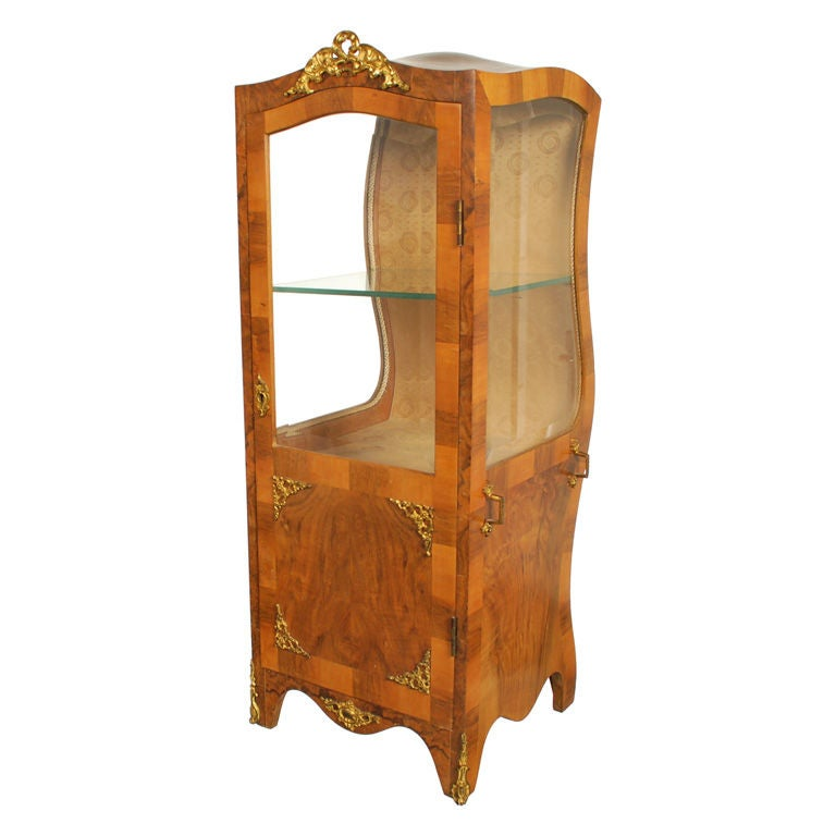 Scale French Sedan Chair Vitrine At 1stdibs