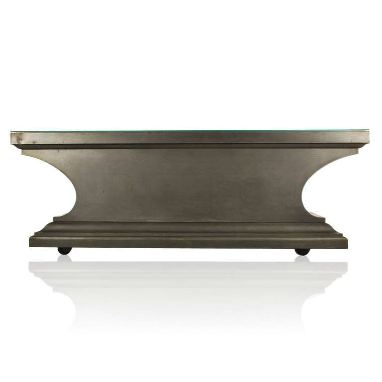 Industrial Style Coffee Table Console From Funeral Table Image 5