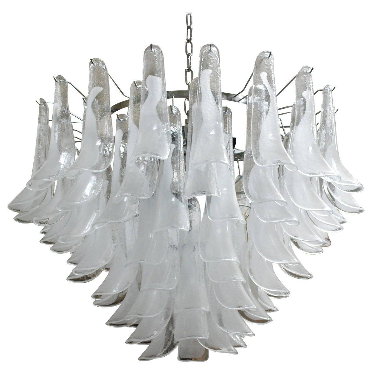 Milano Glass Chandelier