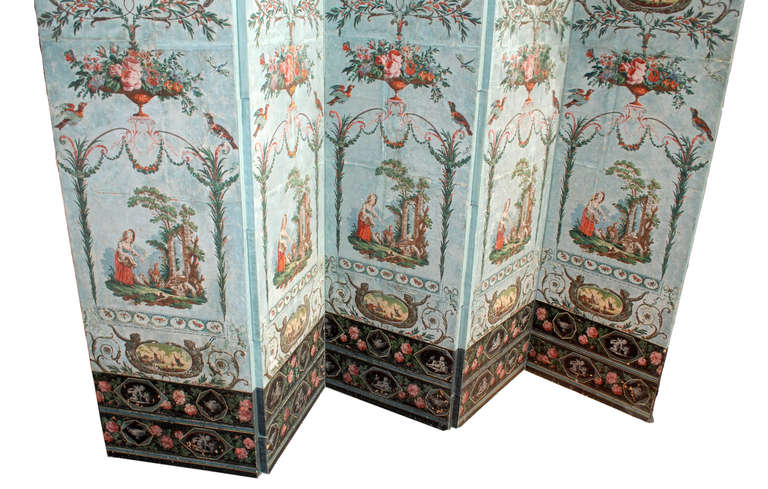 19th century french wallpaper panels at 1stdibs for Wallpaper sheets for sale