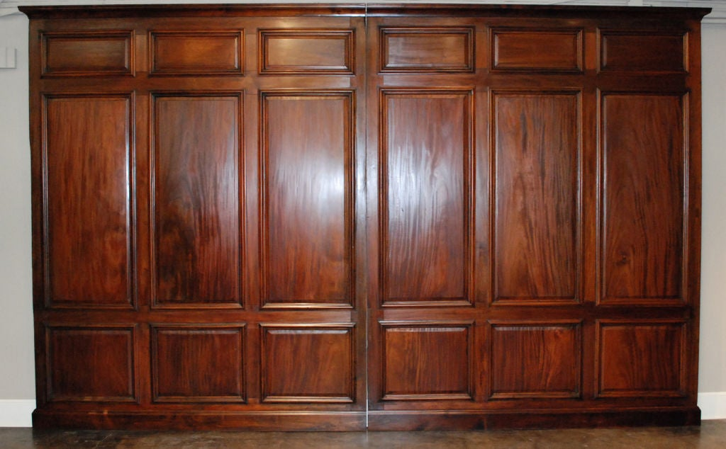 Library Panels Late 19th C At 1stdibs