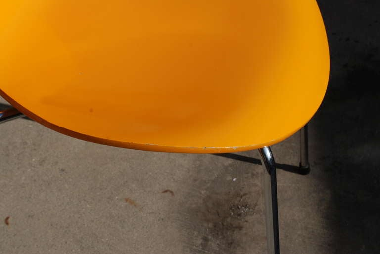 Series 7 Arne Jacobsen Side Chairs At 1stdibs