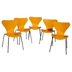 """Series 7"" Arne Jacobsen Side Chairs"