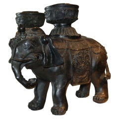 Asian Bronze Elephant, 19th century
