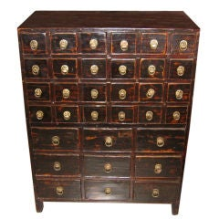 Chinese Apothecary Chest, 20th century