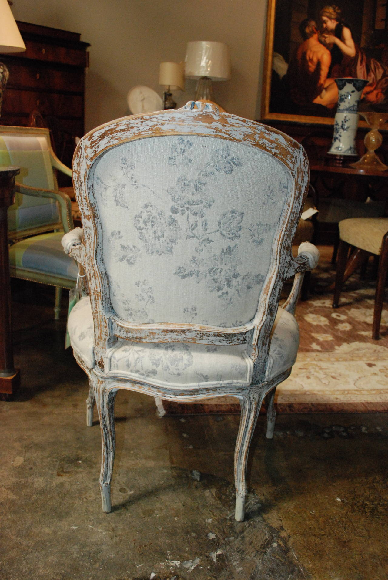 French rococo style armchair for sale at 1stdibs for French rococo style