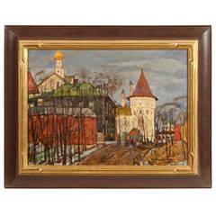 The Kremlin at Rostov by Nicolai Timkov