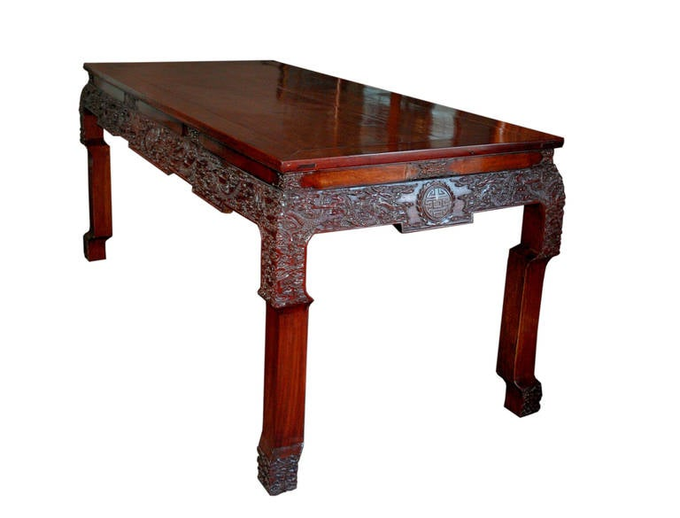 19th Century Chinese Rosewood Carved Table For Sale at 1stdibs : ChineseRosewoodCarvedTable1l from www.1stdibs.com size 768 x 585 jpeg 32kB