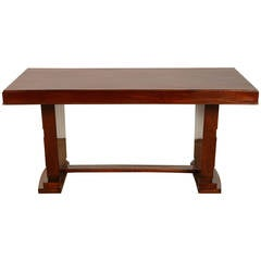 Art Deco Rosewood French Colonial Desk