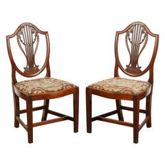 Pair of Early Georgian Chairs
