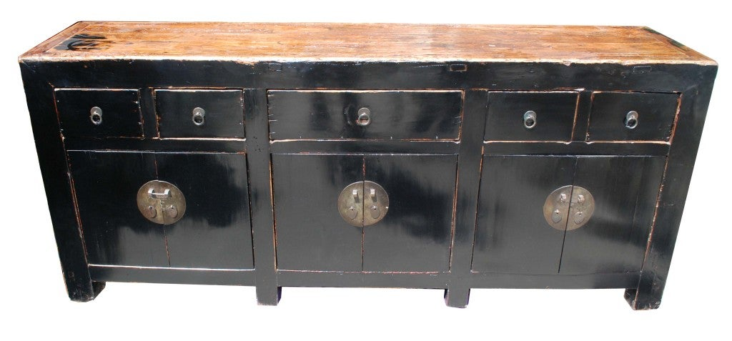 white chinese sideboard 3