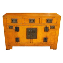 Chinese Painted Sideboard, 19th century