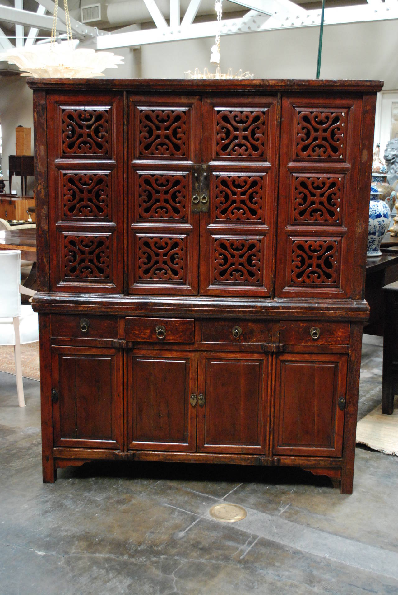 Chinese kitchen cabinet for sale at 1stdibs for Chinese kitchen cabinets