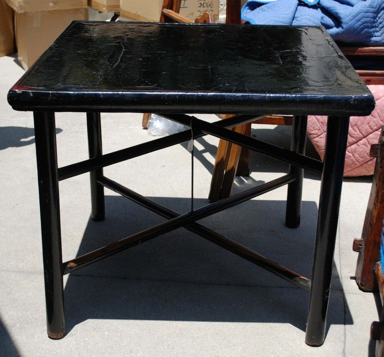 Joinery Chinese Ming Dynasty Game Table For
