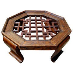 17th Century Chinese Octagon Coffee Table
