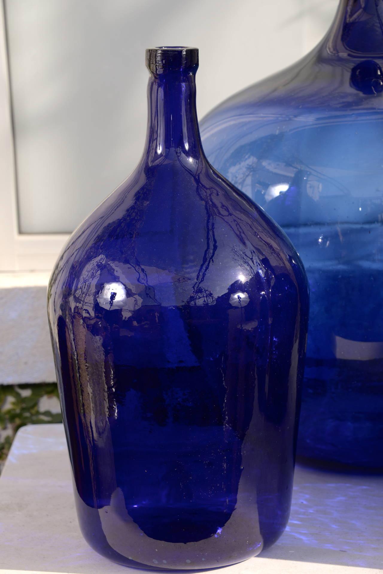 rare french cobalt blue dame jeanne at 1stdibs. Black Bedroom Furniture Sets. Home Design Ideas