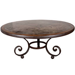 Zinc Top French Dining Table