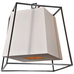 Kyle Geometric Fixture in Old Bronze with Eco Shade