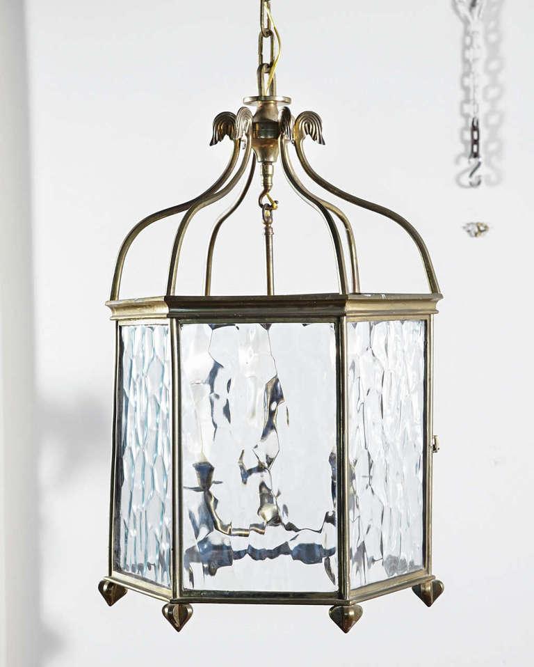 Antique English Brass Pendant At 1stdibs