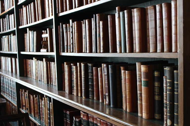 Antique English Library Bookcase At 1stdibs