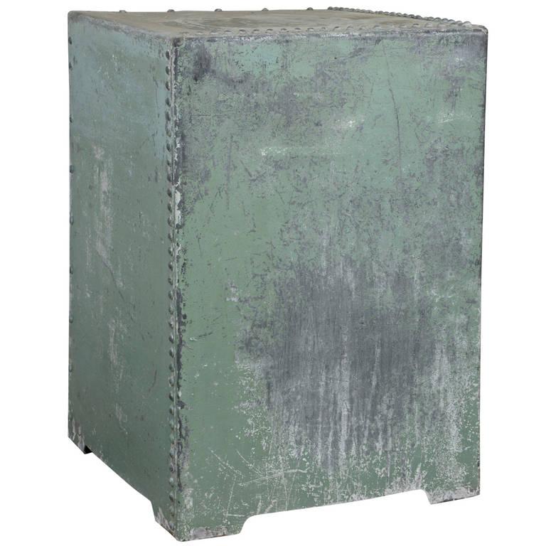 English Galvanized Displayed Pedestal