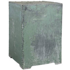 English Galvanized Displayed Pedestal