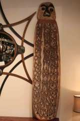 Hand Carved Antique Shield from New Guinea image 2