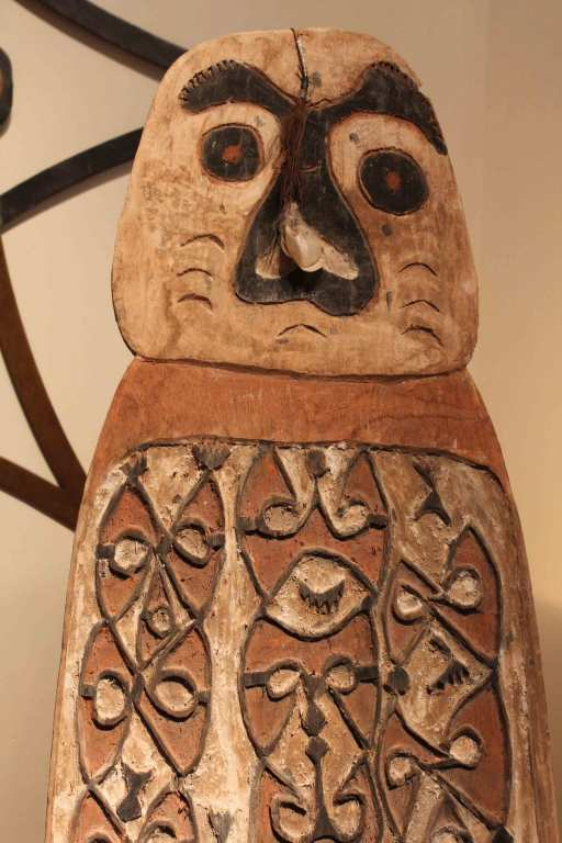 Hand Carved Antique Shield from New Guinea 4