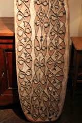 Hand Carved Antique Shield from New Guinea image 7