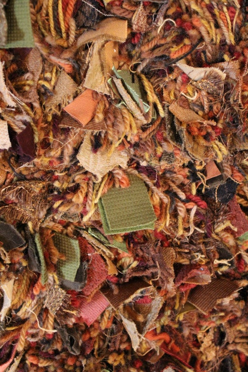 Fall Colors Shaggy Rug For Sale At 1stdibs