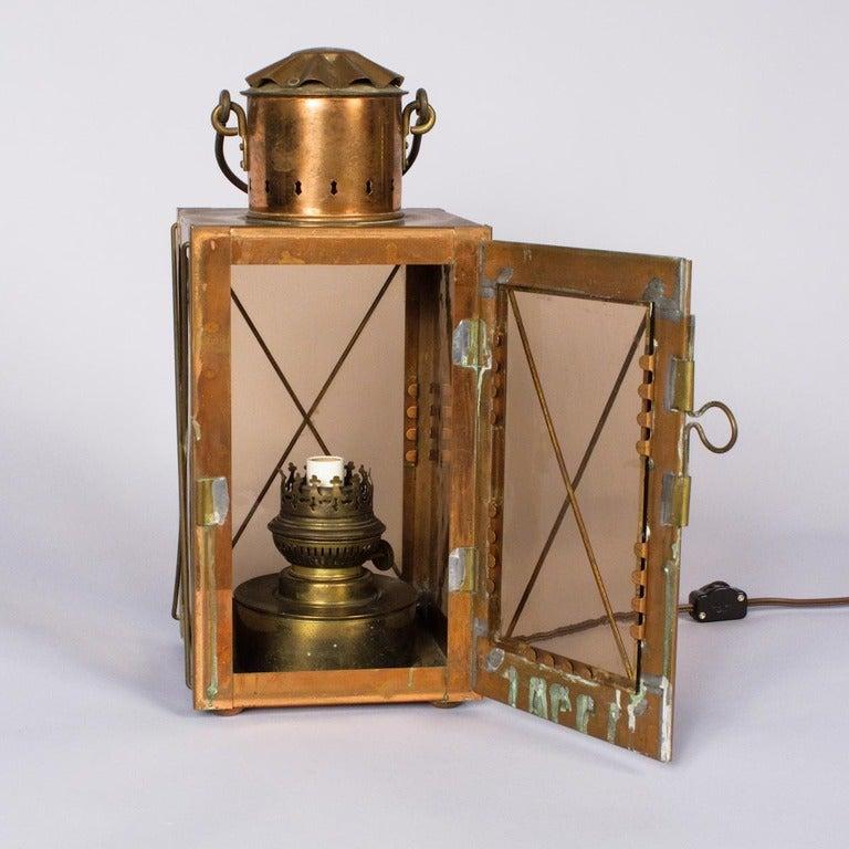French Copper Lantern At 1stdibs