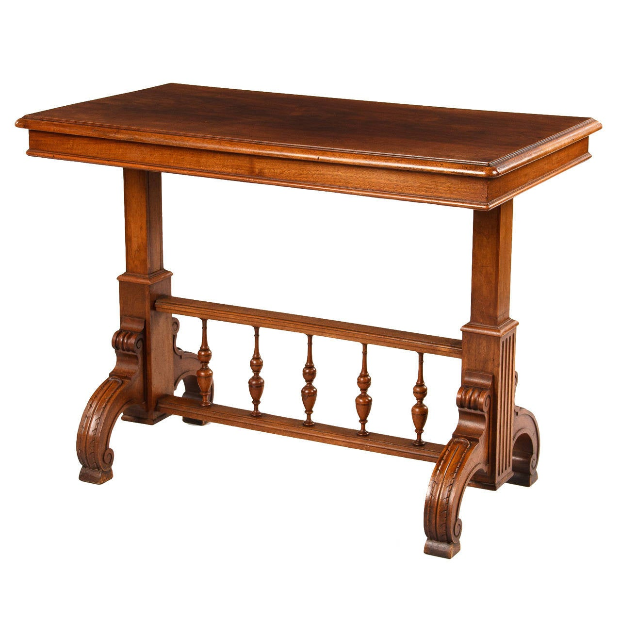 rare henri ii style serving table at 1stdibs. Black Bedroom Furniture Sets. Home Design Ideas