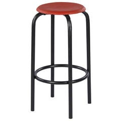 French Vintage Industrial Stool