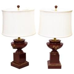 Pair of Vintage Louis Drimmer Lamps