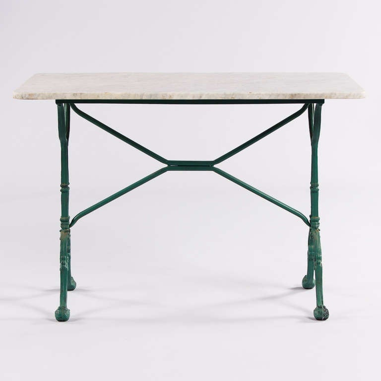 Mid century italian bistro table at 1stdibs for Mid century bistro table