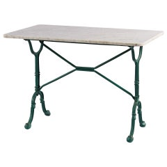Mid-Century Italian Bistro Table