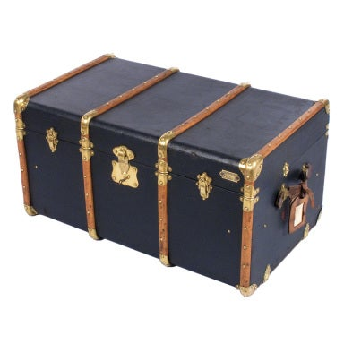 "French Traveling Trunk by ""Old England"""