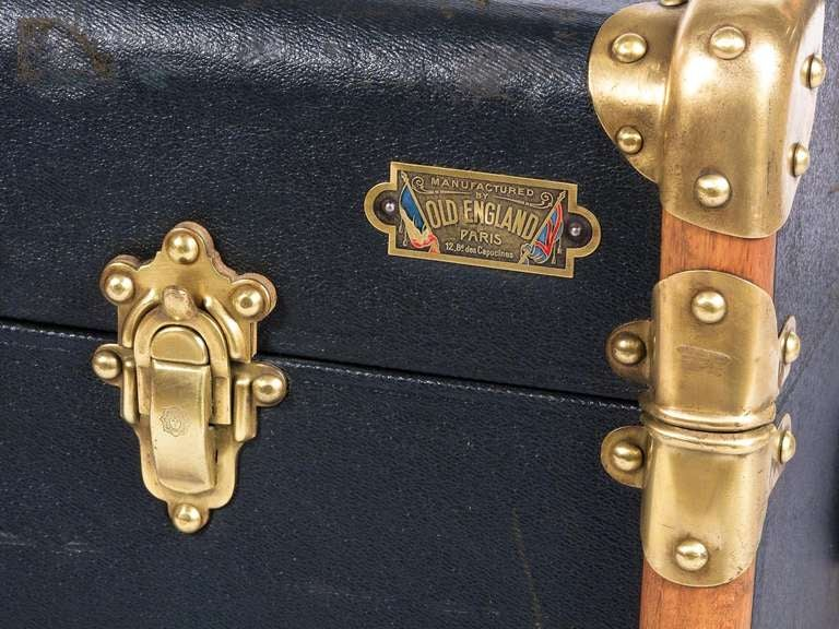 """French Traveling Trunk by """"Old England"""" 7"""