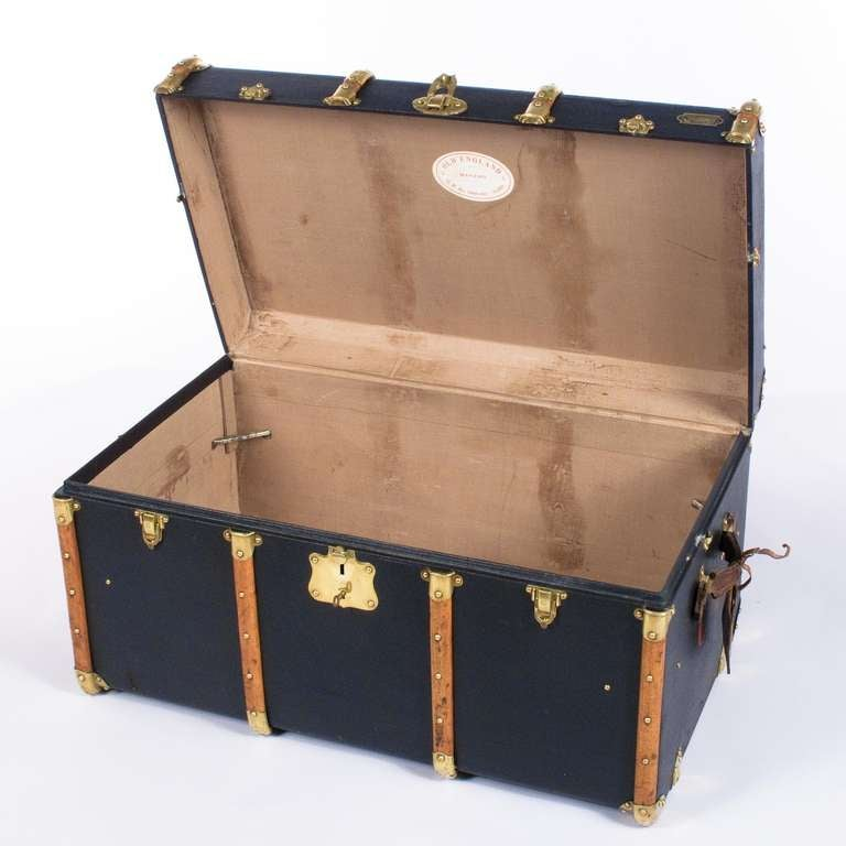 """French Traveling Trunk by """"Old England"""" 10"""