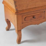 French Period Louis Philippe Petrin Dough Table image 10