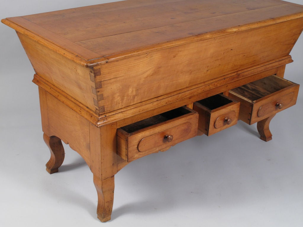 French Period Louis Philippe Petrin Dough Table 3
