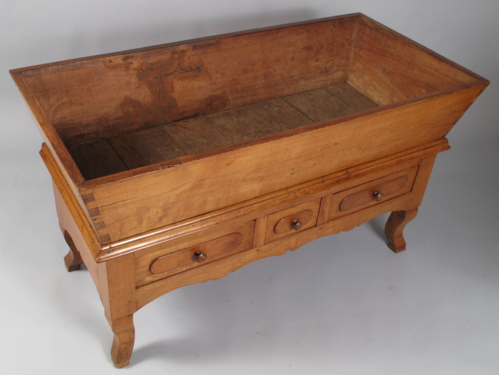 French Period Louis Philippe Petrin Dough Table 5