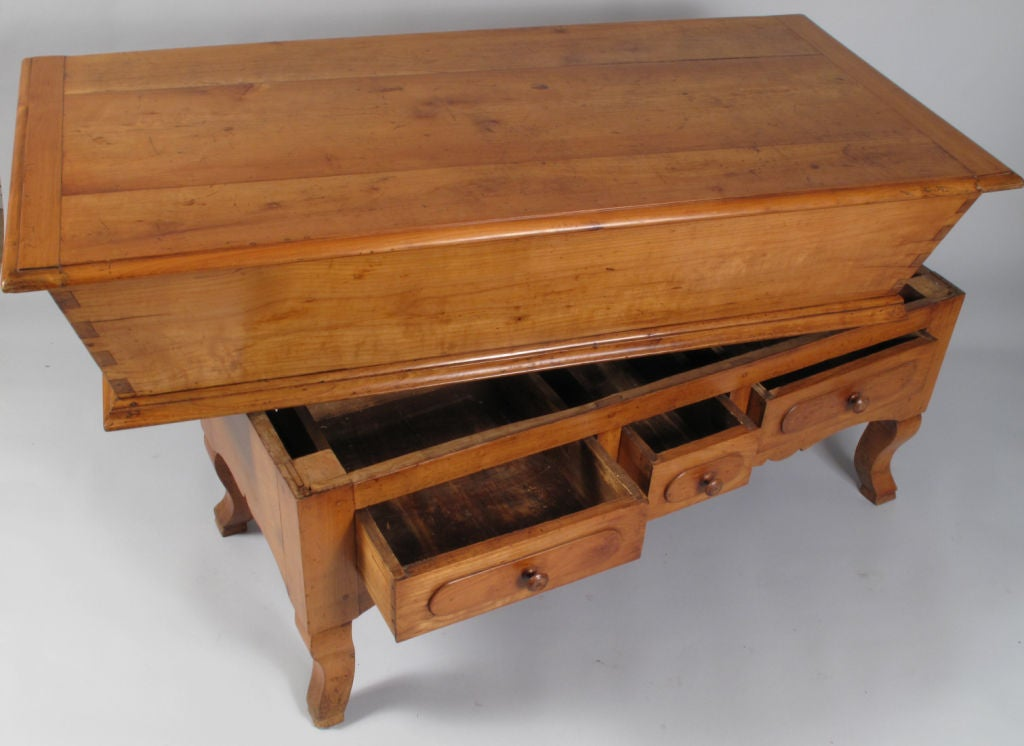 French period louis philippe petrin dough table at 1stdibs for Table louis philippe