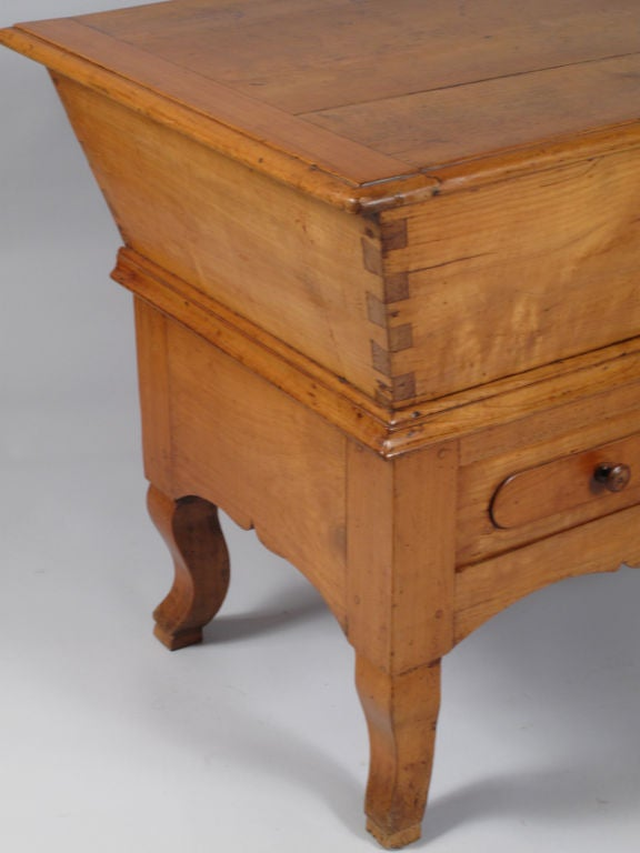 French Period Louis Philippe Petrin Dough Table 7
